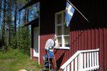 Målning 2008 – Idets köksfönster målades 2008