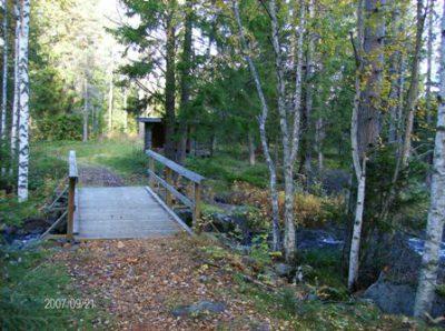 Motionsspår – Den som promenerar exempelvis Gammvallsvägen får både motion och fina naturupplevelser