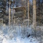 Tornet – Tornet väl kamouflerat i vinterljus