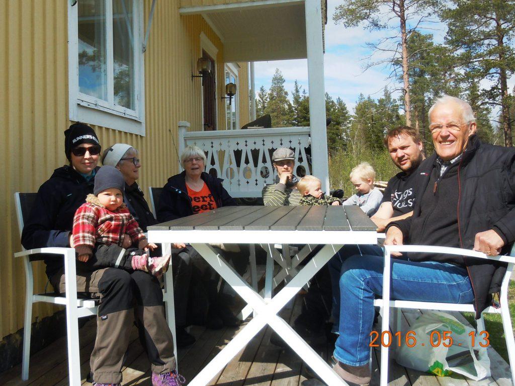 Fr.v. Anna Persson, Asta Johansson, Karin Persson (ordf), Mikael Lundmark, Jerry Olofsson, Jan-Erik Pettersson (Saknas gör Maria Persson.