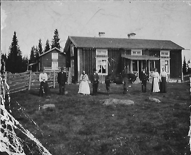 Familjen Jonsson i Ersnäs