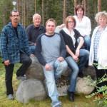 Styrelsen 2009-10 – Styrelsen  utan Gunilla Stenström som  saknades när bilden togs