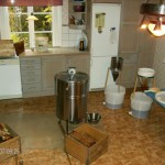 Honungsslungning i köket