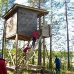 Tornet – Tornet hittar man intill stigen på en liten höjd intill Träsket
