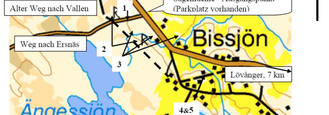 Karte auf Deutsch