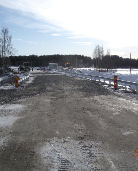 Den 9 mars släpps trafiken på för alla fordon